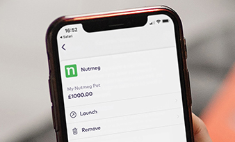 Starling Bank: adds Nutmeg to Marketplace